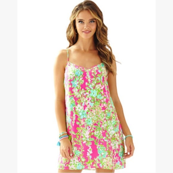 Lilly Pulitzer Dresses & Skirts - Lilly Pulitzer Southern Charm Silk Dress XXS